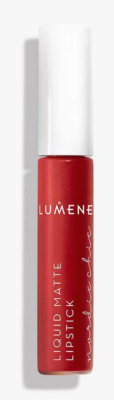 Жидкая губная помада Lumene Nordic Chic, матовая, №01, 7 мл lumene nordic chic мягкий карандаш для губ 07