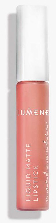 Жидкая губная помада Lumene Nordic Chic, матовая, №04, 7 мл lumene nordic chic мягкий карандаш для губ 07