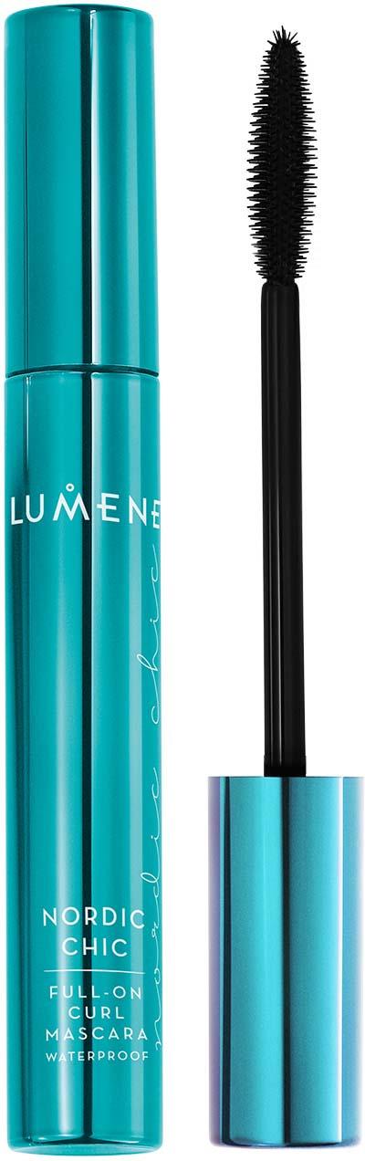 """Тушь для ресниц Lumene Nordic Chic """"Максимальное подкручивание"""", водостойкая, черный, 7 мл"""