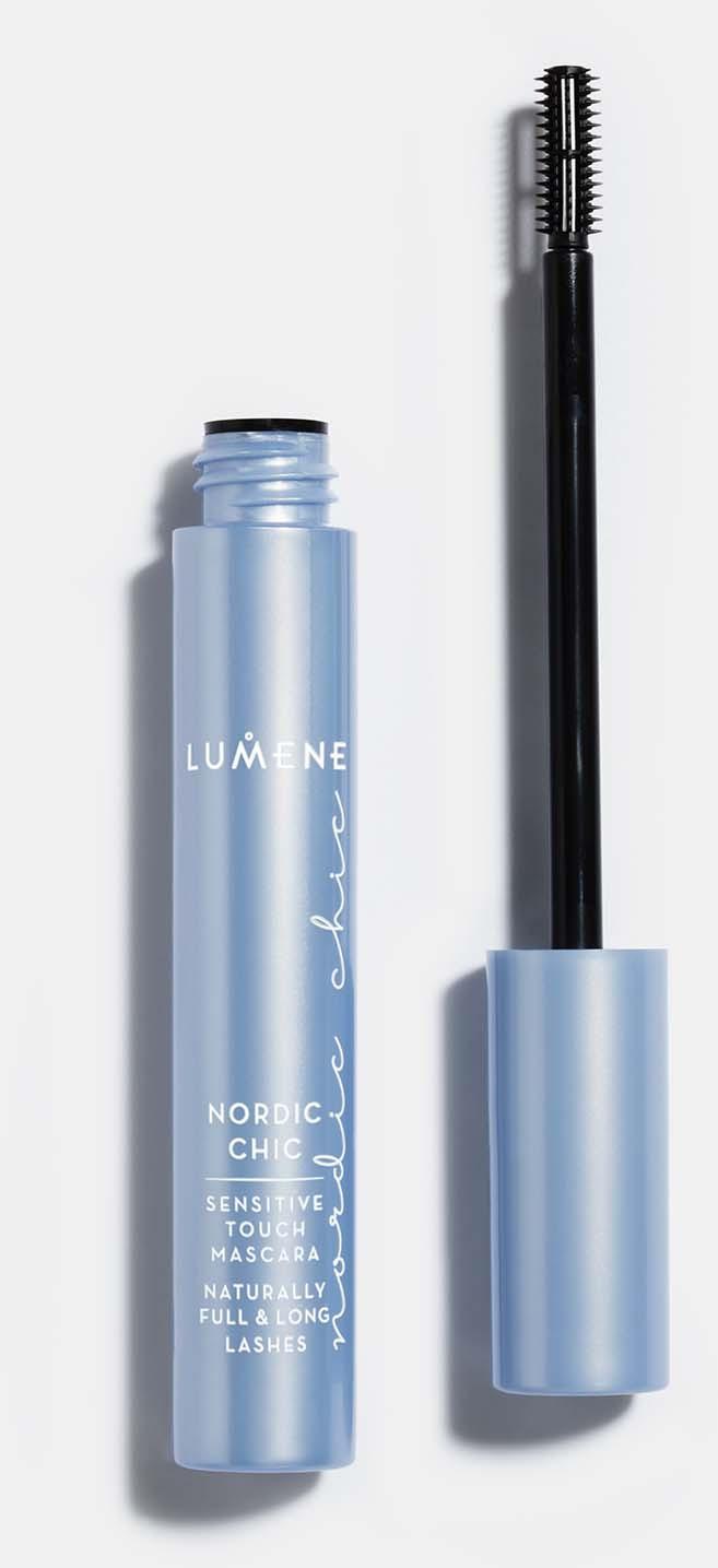 Тушь для ресниц Lumene Nordic Chic, для чувствительных глаз, черный, 7 мл
