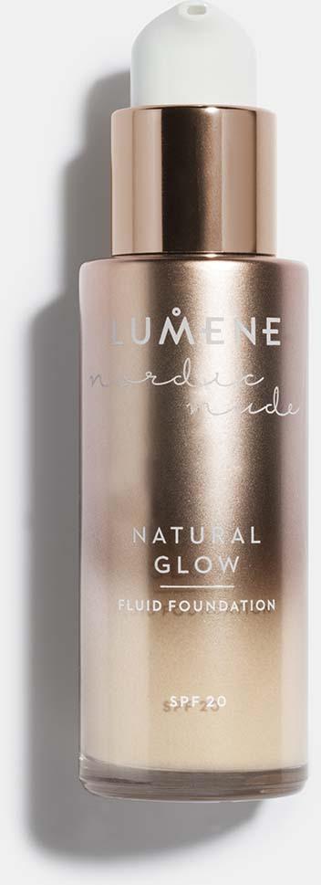 Тональный крем-флюид Lumene Nordic Nude Natural Glow, SPF 20, №02, 30 мл