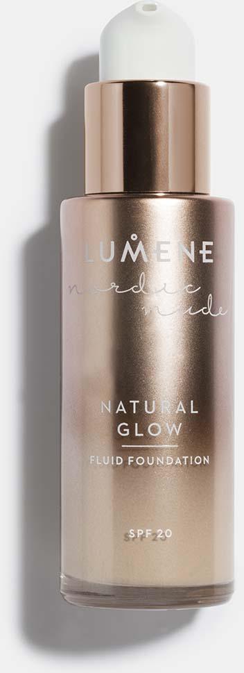 Тональный крем-флюид Lumene Nordic Nude Natural Glow, SPF 20, №03, 30 мл