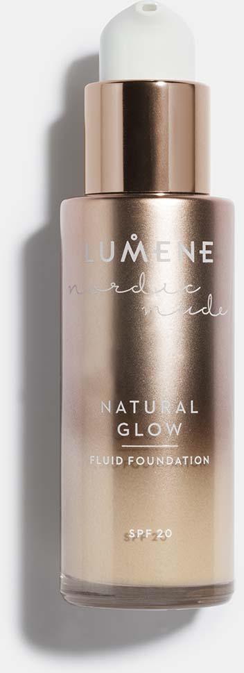 Тональный крем-флюид Lumene Nordic Nude Natural Glow, SPF 20, №04, 30 мл