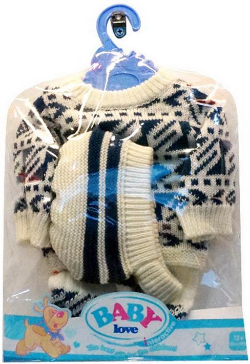 цена Одежда для кукол Junfa Toys, BLC11, свитер, с пуговками онлайн в 2017 году