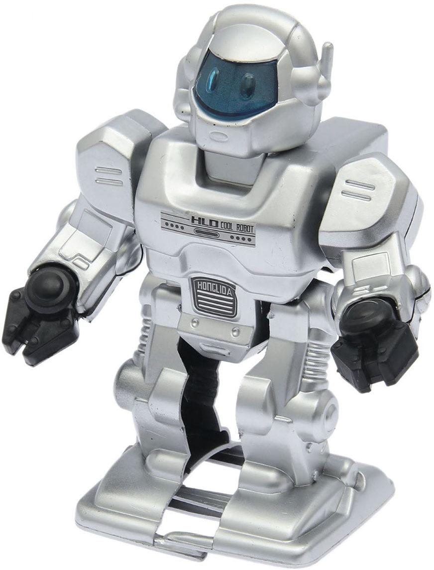Робот Космический воин, со световыми и звуковыми эффектами, ходит, 1553585 робот воин черный hap p kid