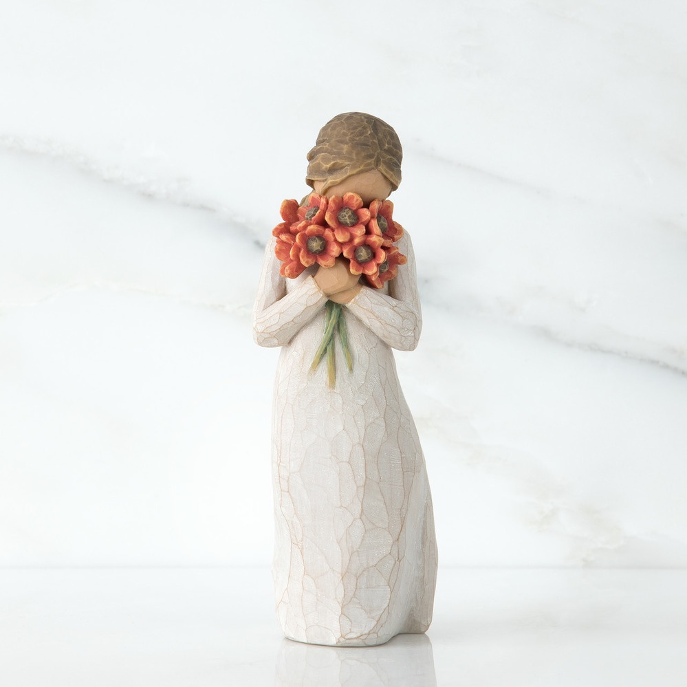 Фигурка декоративная Willow Tree статуэтка миниатюрная, интерьерная, 26233 декоративная фигурка статуэтка статуэтка karavan 4104