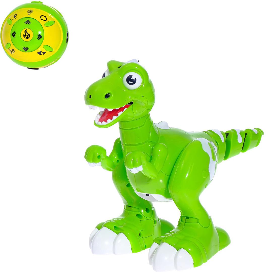 """Робот радиоуправляемый """"Динозавр"""", 3011270, реагирует на движение"""