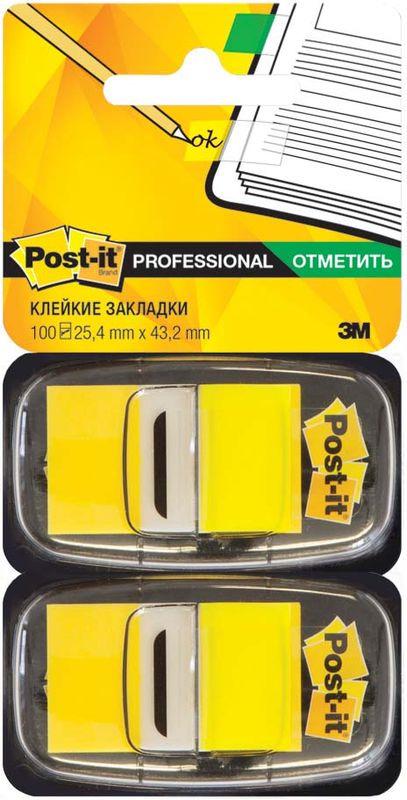 Закладки клейкие Post-it Proffessional, 395551, 100 листов закладки клейкие post it 494572 3 цвета по 100 листов