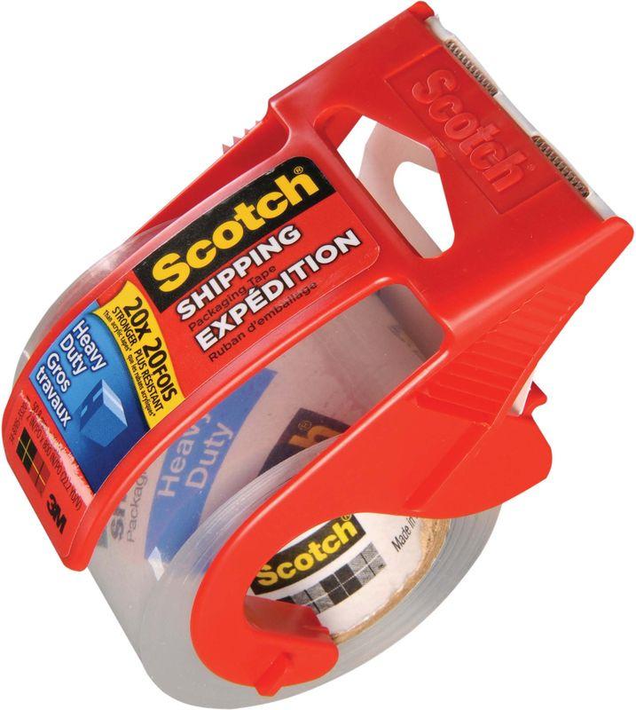 Скотч Scotch Экстра в диспенсере, 521553, 4,8 см х 20,3 м521553Клейкая лента упаковочная Scotch на полипропиленовой основе плотностью 75 мкм, прозрачная. Отличается высокой адгезией клея (слипанием с поверхностью), стойкостью к разрыву. В диспенсере. Ширина ленты - 48 мм, длина намотки - 20.3 м. Широкая клейкая лента предназначена для упаковки тяжелых и объемных грузов, не теряет свойств на открытом воздухе при температуре от 0 до 35 градусов Цельсия. Клеевой слой - акриловая эмульсия на водной основе. Материал основы: двуосноориентированный полипропилен. Вес упаковываемого груза: 15-25 кг. Количество лент в упаковке: 1 штука. Количество упаковок в транспортном коробе: 36 штук. Товар продается поштучно. Рекомендуем!