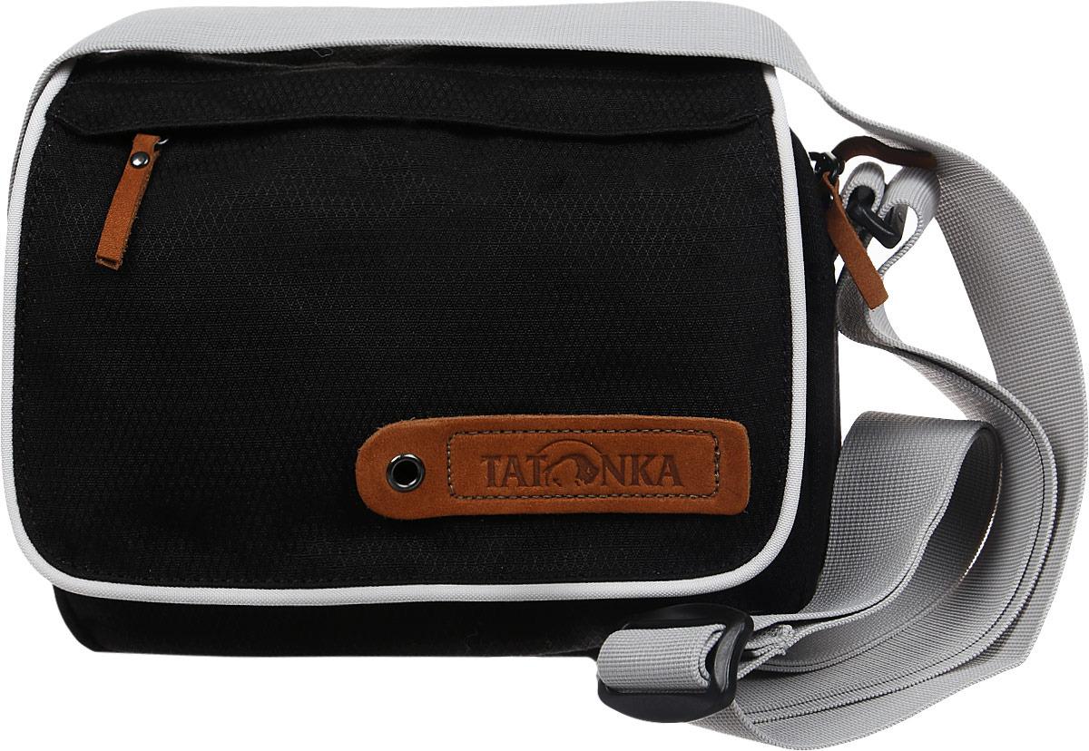Сумка на плечо Tatonka Cavalier, цвет: черный, 3 л tatonka cavalier