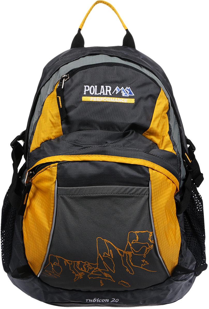 Рюкзак городской Polar, 21,5 л, цвет: желтый. П1563-03 рюкзак городской polar цвет светло серый 13 л к9276