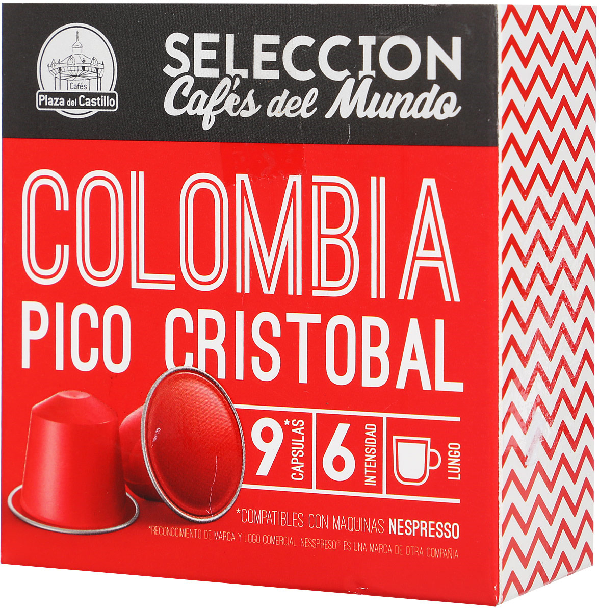 Cafes Plaza del Castillo Кофе в капсулах Отборный кофе стран мира: Колумбия, 9 шт по 54 г trish morey secrets of castillo del arco