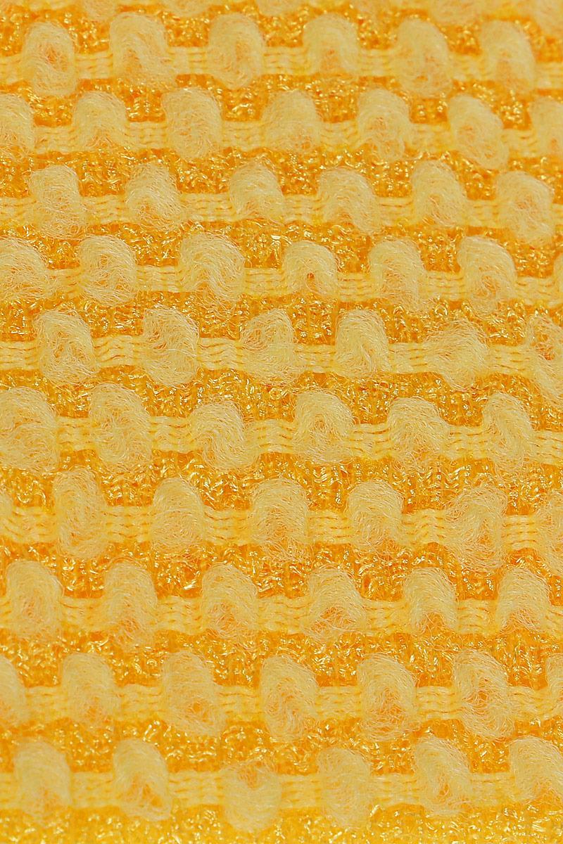 Мочалка OHE / массажная средней жесткости, цвет:  желтый, арт.  613913