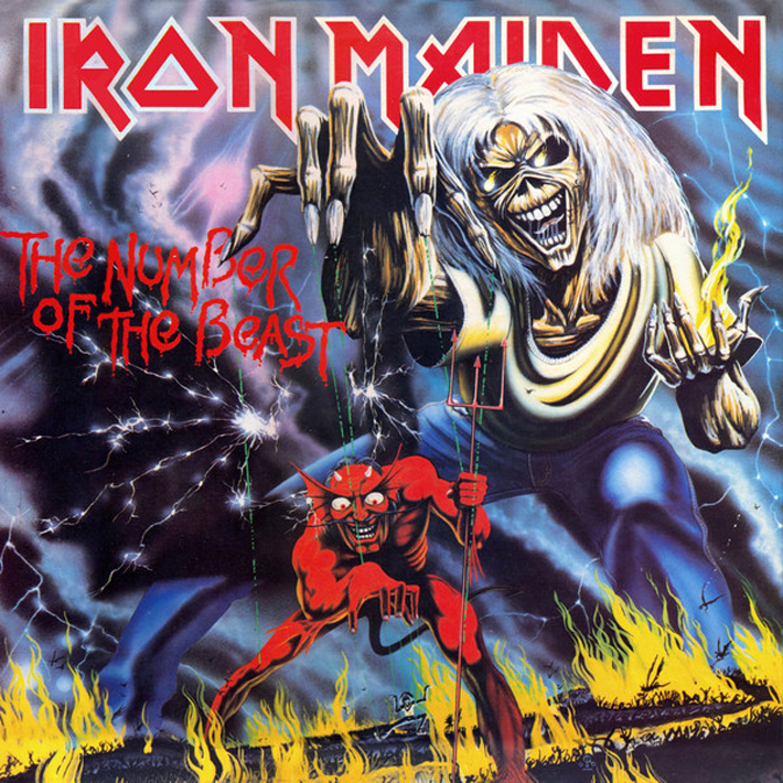 Iron Maiden Iron Maiden. The Number Of The Beast june francis the unconventional maiden