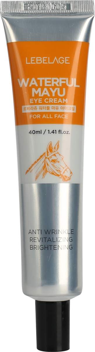 Крем для кожи вокруг глаз Lebelage, увлажняющий, с лошадиным маслом, 40 мл