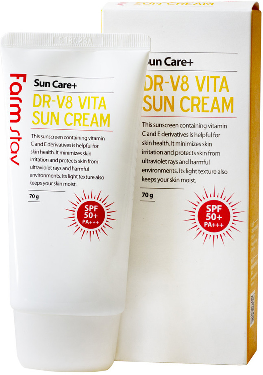 Крем солнцезащитный FarmStay, витаминизированный, 70 г FarmStay