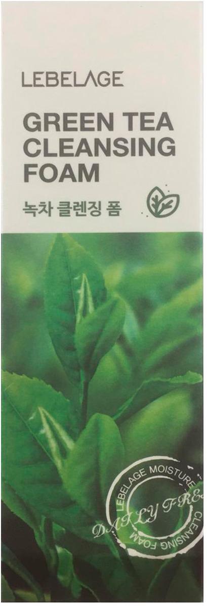 Пенка для умывания Lebelage, с экстрактом зеленого чая, 100 мл