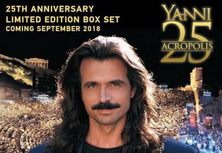 Yanni. Live At The Acropolis (25Th Anniversary) (CD+DVD+Blu-Ray) the new acropolis museum