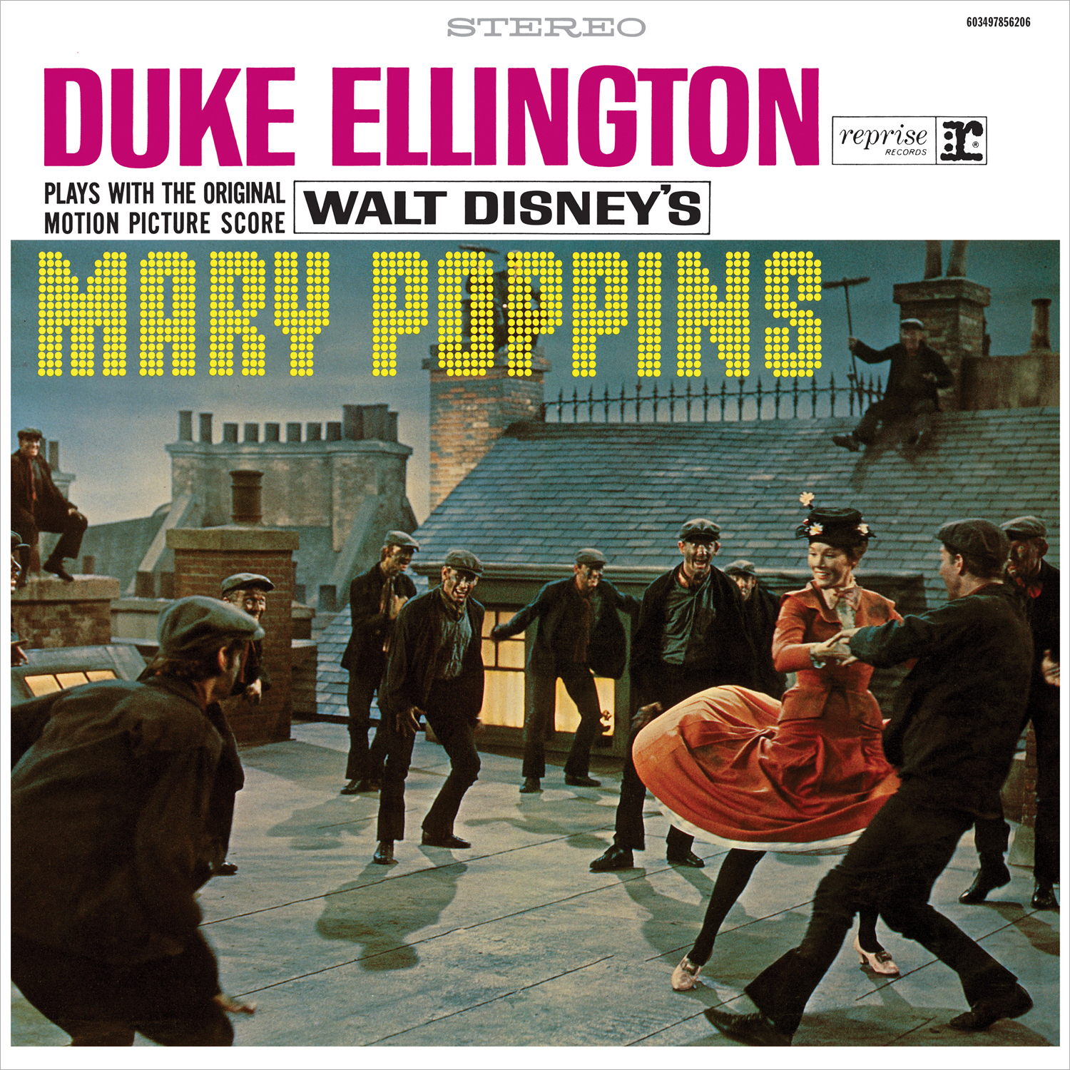 Дюк Эллингтон Duke Ellington . Duke Ellington Plays With The Original Motion Picture Score Mary Poppins (LP) каунт бэйси дюк эллингтон duke ellington count basie duke ellington meets count basie
