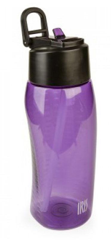 Фляжка пластиковая Iris Barcelona, цвет: лиловый, 650 мл масленка iris barcelona cuinox 500 мл