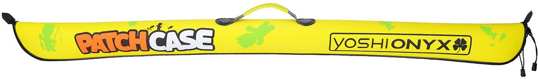 Чехол для удилищ Yoshi Onyx Patch Сase, складной, цвет: желтый, 135 см