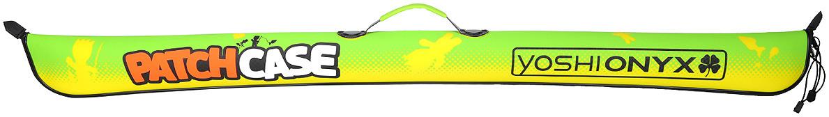 Чехол для удилищ Yoshi Onyx Patch Сase, складной, цвет: зеленый, 135 см