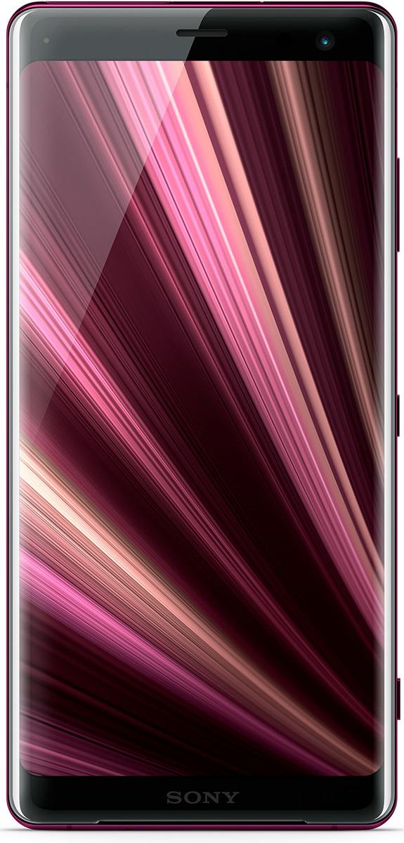 Смартфон Sony Xperia XZ3 4/64GB, бордовый
