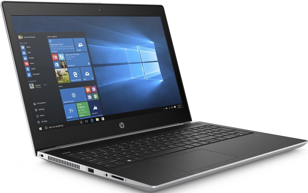 Ноутбук HP ProBook 450 G5, 4WV21EA, 15.6, серебристый ноутбук hp probook 450 g3