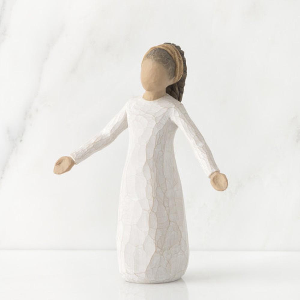 Фигурка декоративная Willow Tree статуэтка миниатюрная, интерьерная, 26186, Искусственный камень