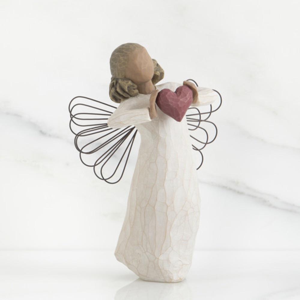 Фигурка декоративная Willow Tree статуэтка миниатюрная, интерьерная, 26182, Поделочный камень, Искусственная смола tree