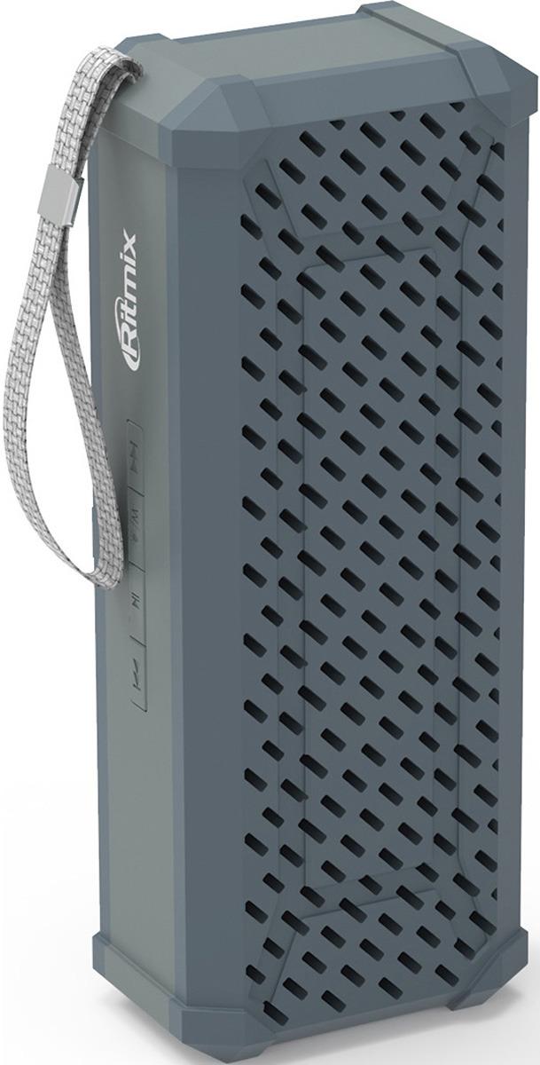 Портативная акустическая система Ritmix SP-260B, 15119830, grey