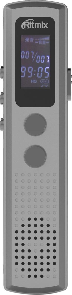 Диктофон Ritmix RR-120 4Gb, 15119874, silver ritmix rr 120 8gb silver