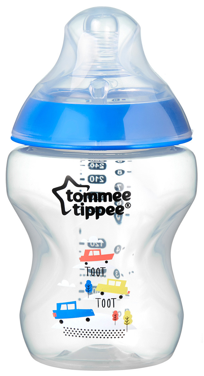 Бутылочка для кормления tommee tippee Closer to nature, 260 мл, с антиколиковым клапаном, синяя арт. 4225017542250175• Сверхчувствительный клапан предотвращает попадание воздуха в желудок малыша• Уникальная форма мягкой силиконовой соски обеспечивает простоту захвата• Компактная форма бутылочки обеспечивает тесный контакт между мамой и малышом во время кормления• Имитирует естественную эластичность, ощущение и движение маминой грудиИнформация о продукте:• Сменные соски обеспечивают разную скорость потока: медленную, среднюю, быструю• Яркий дизайн бутылочек для мальчиков• Не содержат Бисфенол А• Объем 260 млРазмер упаковки:14,5х8х8см