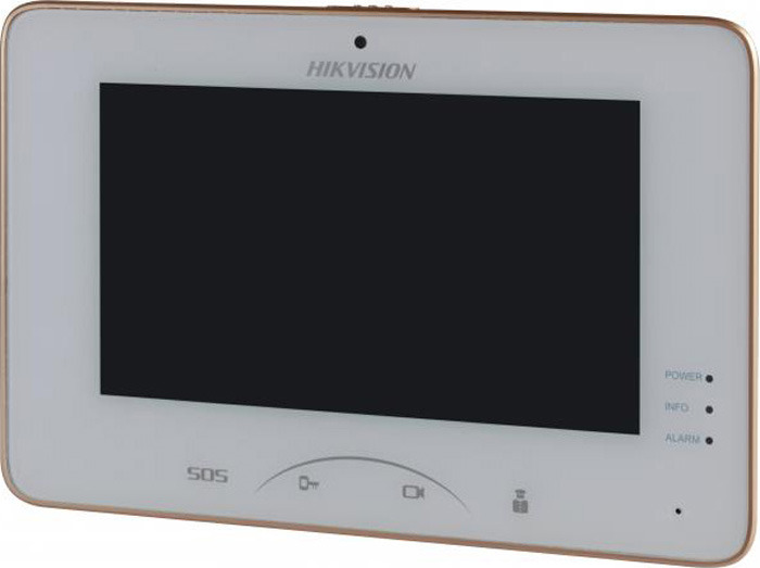 Монитор IP видеодомофона Hikvision DS-KH8301-WT, белый