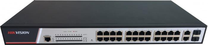 Рое-коммутатор Hikvision DS-3E2326P, черный