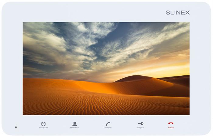 Монитор видеодомофона Slinex SM-07M, White