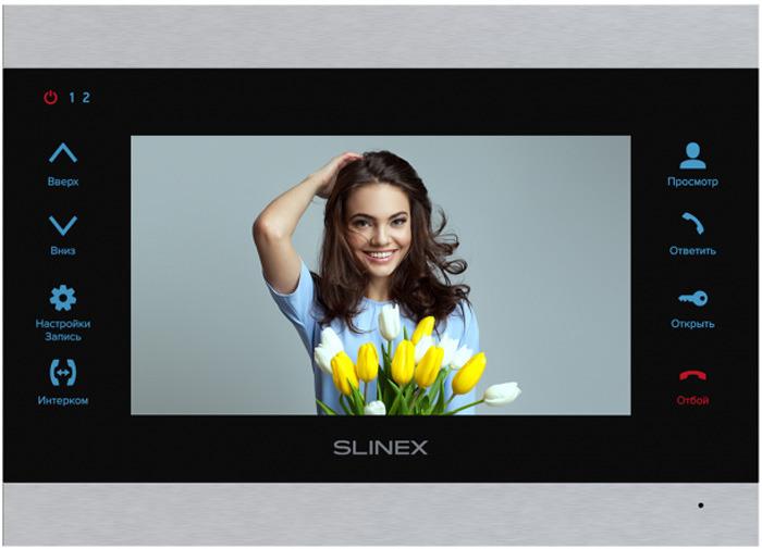 Монитор видеодомофона Slinex SL-07M, Silver Black