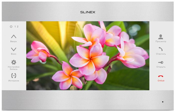 Монитор видеодомофона Slinex SL-10M, Silver White