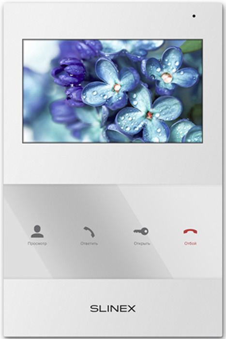 Монитор видеодомофона Slinex SQ-04, White