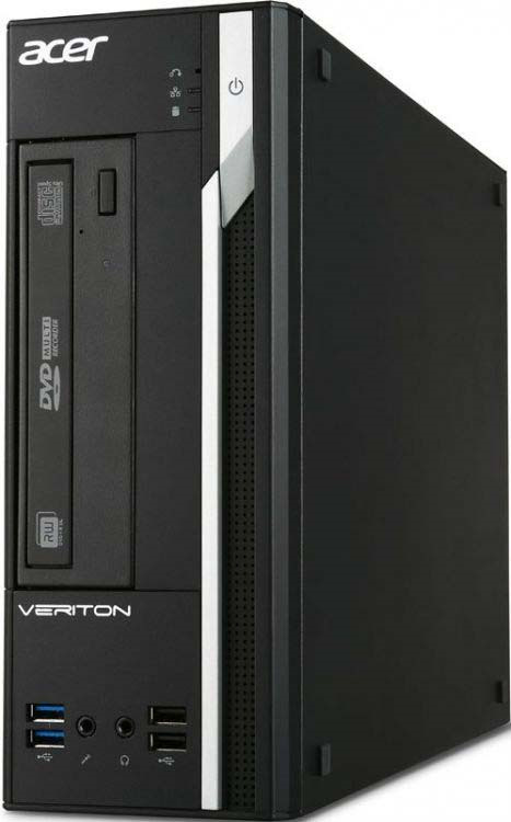 Системный блок Acer Veriton X2640G SFF, DT.VPUER.016, черный цена