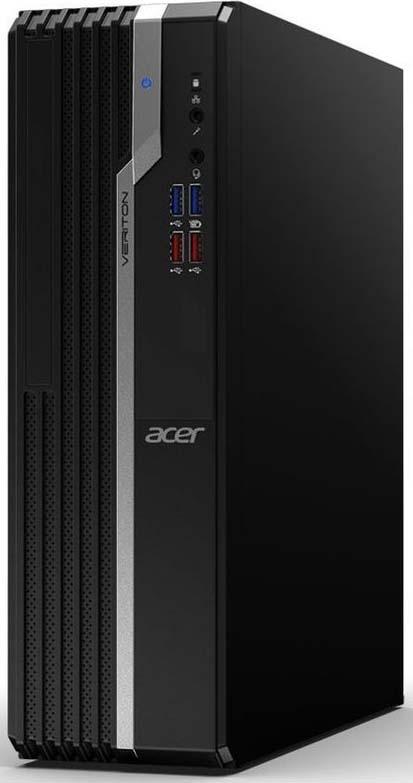 Системный блок Acer Veriton X2660G, DT.VQWER.045, черный цена