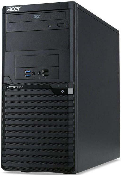 Системный блок Acer Veriton M2640G MT, DT.VPPER.141, черный цена