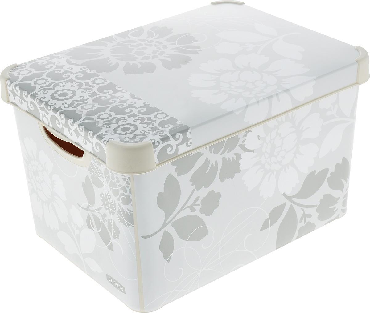 Коробка для хранения Curver Stockholm. Romance, 22 л цена