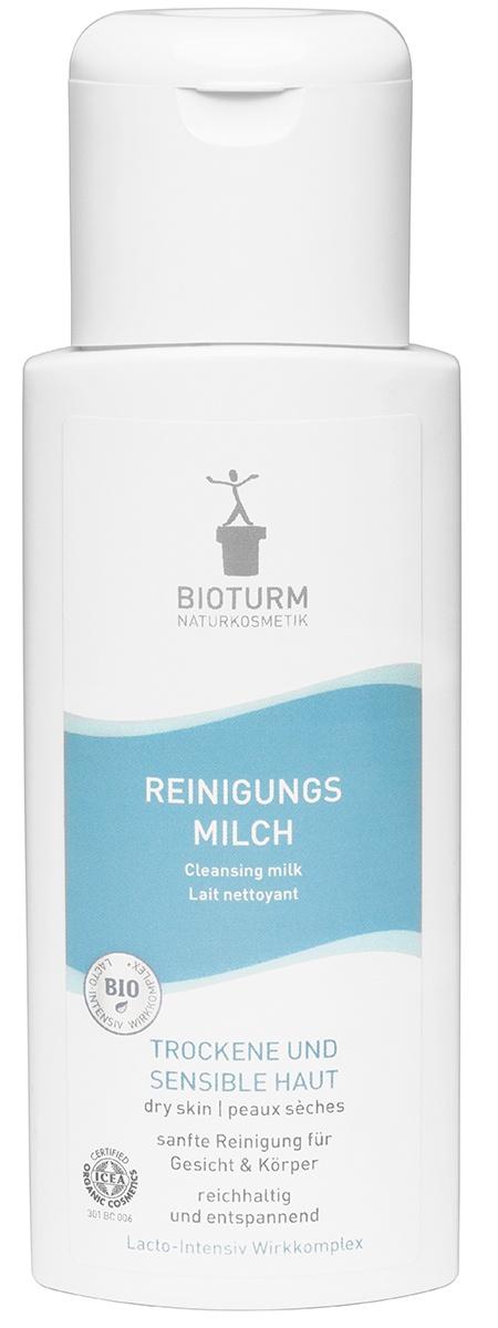 Молочко косметическое BIOTURM Очищающее молочко для лица и тела Nr.10