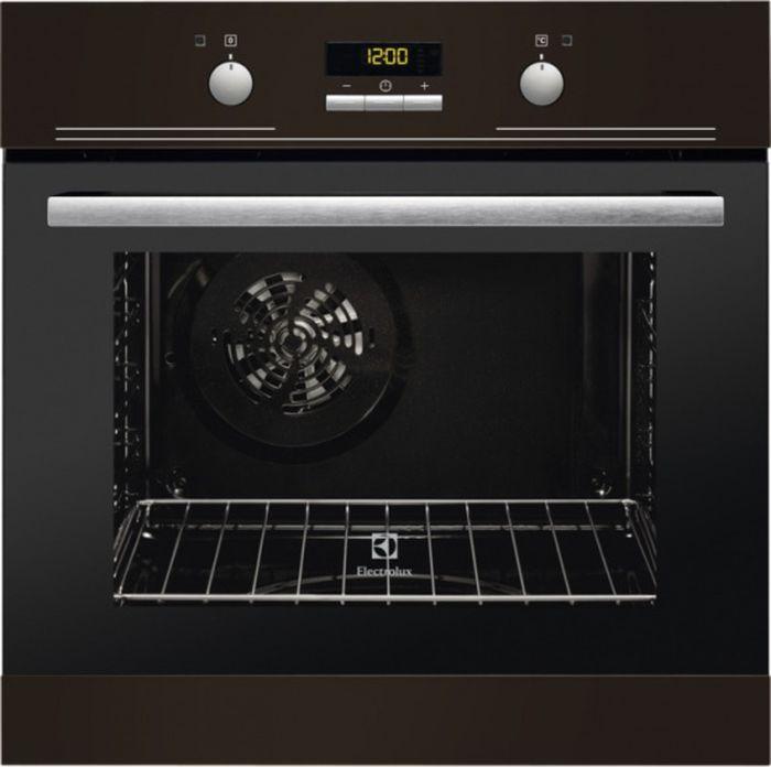 Встраиваемый духовой шкаф Electrolux EZB53430AB, коричневый