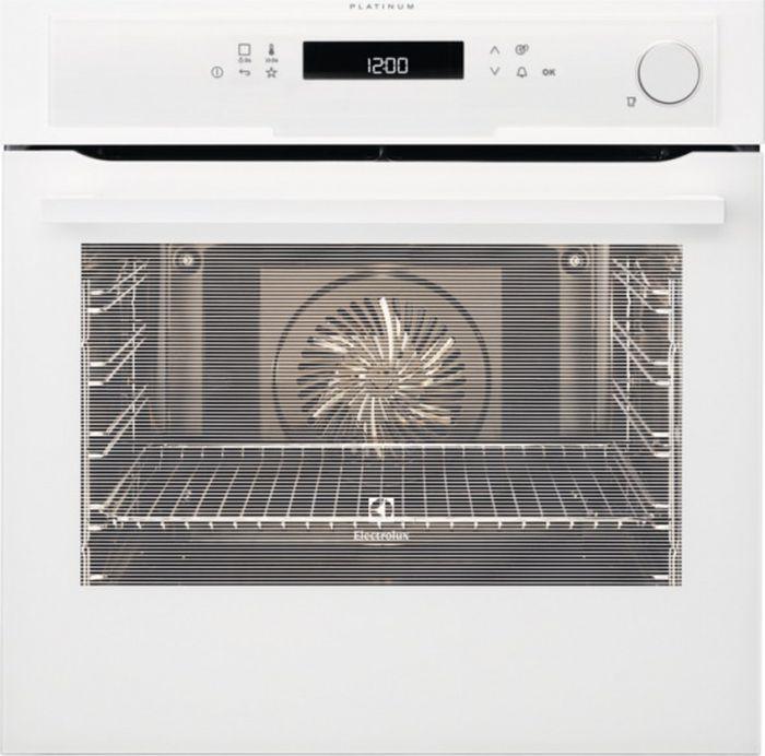 Встраиваемый духовой шкаф Electrolux EOB96850AV, белый духовой шкаф electrolux ezb52430ax серебристый