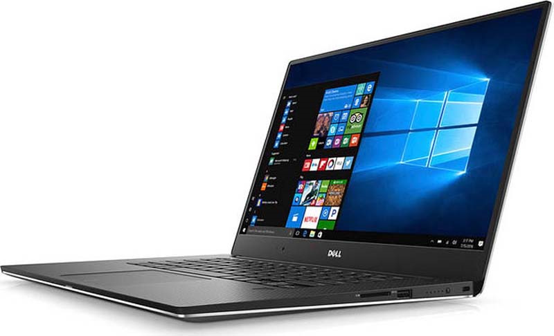 Ноутбук Dell XPS 15 9570 9570-7028, серебристый