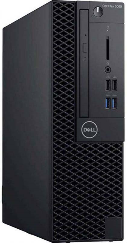 Системный блок Dell Optiplex 3060 SFF, 3060-7533, черный системный блок dell optiplex 5060 sff 5060 7656 черный