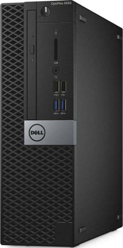 Системный блок Dell Optiplex 5050 SFF, 5050-8192, черный, серебристый системный блок dell optiplex 5060 sff 5060 7656 черный