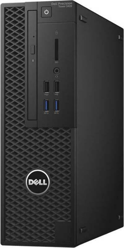 Системный блок Dell Precision 3420 SFF, 3420-4490, черный цена